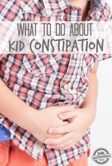 What To Do About Kid Constipation