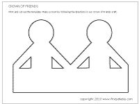 Family tree craft ideas on pinterest family trees for Friendship tree template