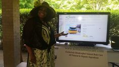 @YEShields looking fabulous at the #konadubodycarelaunch