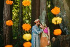 Boho-Chic Indian Fusion Wedding