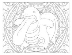 Free printable Pokemon coloring page-Lickitung. Visit our page for more coloring! Coloring fun for all ages, adults and children. Pokemon Coloring Sheets, Printable Coloring Sheets, Colouring Sheets, Pattern Coloring Pages, Coloring Book Pages, Pokemon Party, Pokemon Birthday, Mandala Coloring, Colorful Drawings
