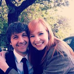 Mr. Collins and Lydia from the Lizzie Bennet Diaries