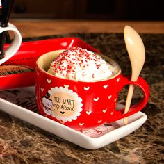 Snow Pals - You Warm my Heart Ceramic Soup Bowl Mug with Spoon Christmas Themed Kitchenware Kitchenware, Tableware, Christmas Themes, Spoon, Xmas, Ceramics, Coffee, Heart, Winter