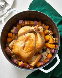 How To Cook a Whole Chicken Dinner in the Dutch Oven with Just 5 Ingredients 12c1d3b4eea