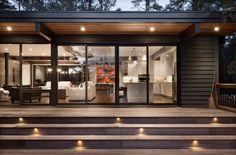 Modern, environmentally conscious homes. Shared Bedrooms, Guest Bedrooms, Master Bedroom, Big Deck, Roof Overhang, Cottage Design, Outdoor Living, Living Spaces, Environment