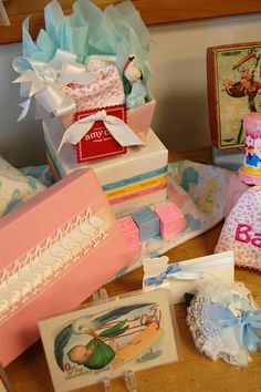 Vintage baby showers- the new trend! Celebrate them in like their grandparents were!