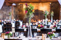 Keystone Wedding at Timber Ridge: Brittany & Eric Two Story Fireplace, Keystone Resort, Wedding Coordinator, Brittany, Vows, Wedding Flowers, Wedding Planning, Mountain, Table Decorations
