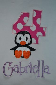 Gabi (the spelling's wrong and it's for a 4-year-old) but how cute!