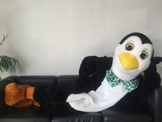 The Penguin is celebrating the luck of the Irish for St. Patrick's Day!