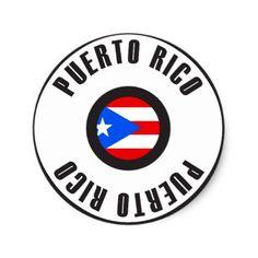 #simple - #Puerto Rico Flag Simple Classic Round Sticker