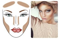 Image result for makeup--contouring