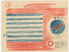 Norman Bel Geddes - Design sketch for the Patriot radio (c1940)