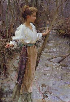 Daniel F. Gerhartz Daniel Gerhartz was born in Wisconsin in 1965 where he now lives with his wife Jennifer and their three young . Russian Painting, Figure Painting, Painting & Drawing, Wisconsin, Art Du Monde, Alphonse Mucha, Beautiful Paintings, Oeuvre D'art, American Artists
