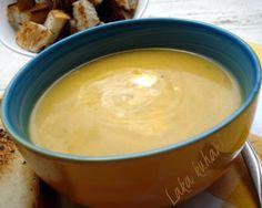 Juha s tikvom i porilukom :: Winter squash and leek soup | Laka kuharica - Easy Cook