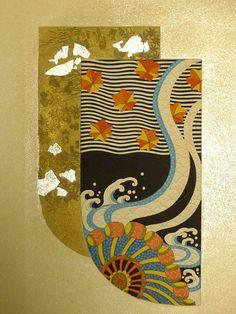 : Kano Shuho (狩野秀峰)1936-Japanese antique book Kano Shuho Ukiyoe Kosode by UkiyoeCosmosPlus