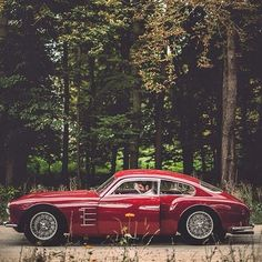 "combustible-contraptions: ""1954 Maserati A6G/54 2000 Zagato Coupe 
