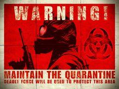 #Biohazard #Quarantine