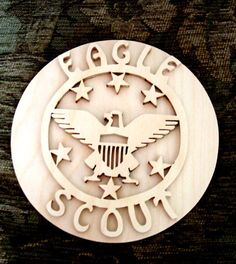 Eagle Scout Plaque Scouting Award Boy Scouts. $18.00, via Etsy.