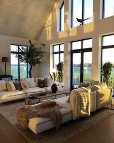 Modern Living Room Design Ideas,Stunning Living Room Decor Ideas Does this look like a cozy living room to you? Cozy Living Rooms, Living Room Modern, Living Room Decor, Living Spaces, Interior Exterior, Room Interior, Interior Design Living Room, Interior Modern, Luxury Interior