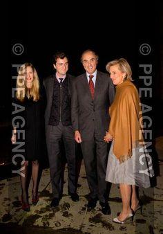 Elisabetta, Amedeo, Lorenz e Astrid