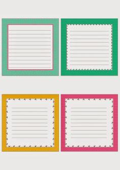 """Journal-Karten für Project Life, 4x4 Journal Card 4"""" x 4"""" Free Download, kostenloser Download"""
