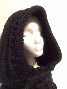 Dark mori woodland forest chunky knitted cowl by ThePhantomHooker