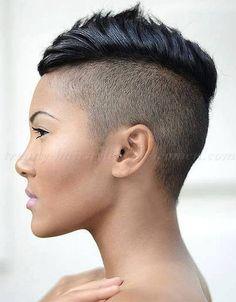 short undercut hairstyles for women , undercut hairstyle for women
