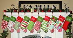PERSONALIZED CHRISTMAS Stocking etsy