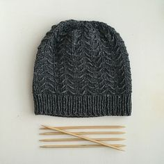 Tamarugo is cozy hat with textured stitch - free knit pattern.