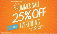 Summer Sale - 25% off