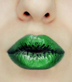 My first look in the amazing site! Did it long time ago with green eyeshodows, liquid eyeliner and clear lip gloss :) Makeup Art, Beauty Makeup, Lip Makeup, Makeup Ideas, Shades Of Green, Green And Grey, Lip Colors, Green Colors, Green Lipstick