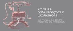 Ciclo de Comunicações e Workshops Do museu ao bairro | histórias de viajantes.  Parceira com os Urban Sketchers Portugal. #FPC #FundacaoPortuguesaComunicacoes #MuseuComunicacoes