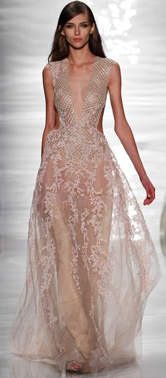 Reem Acra Ready To Wear Spring 2015
