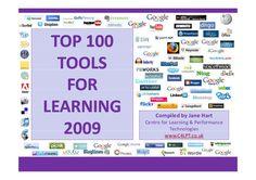 100 ferramentas tecnológicas para a Educ@ção do seculo XXI.