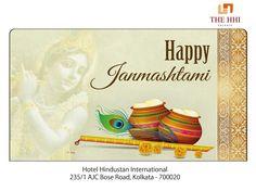 May the sacred festival of Janmashtami usher your life with joy, peace and love! We wish you all a very Happy Janmashtami. #HappyJanmashtami #Janmashtami #Wishes #Happiness #HHIKolkata #Kolkata