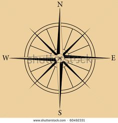 Compass Rose by Wayne Marques, via ShutterStock