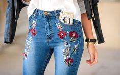 La tendencia floral se apodera de tus jeans