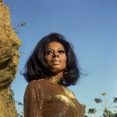 Diana Ross photographed by Wallace Seawell, 1969.