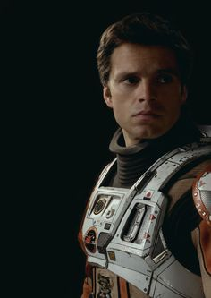 Sebastian Stan as Dr. Chris Beck (The Martian) - He could be in Mass Effect if they ever made a movie for that --- he finally got to be a Chris! Marvel Actors, Marvel Movies, Marvel Dc, Sebastian Stan The Martian, Captain America And Bucky, Making A Movie, Stucky, Most Beautiful Man, Gorgeous Guys