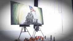 Watch Dreams Need A Veteran. This word painting by orator and artist Eric Samuel Timm is the concise element to honor veterans and celebrate independence. This patriotic video combines a heartfelt delivered script & LIVE ART performance. Patriotic holidays are key moments for your community; LET US HELP support your moment.