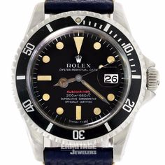 Rolex Submariner Mens Vintage Watch 1680  Mark II Dial Double Papers  | eBay