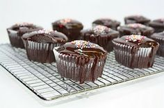 Vegan Chocolate Cupcakes.  These are so good no one will believe they are vegan!