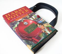 Book Purse Harry Potter and the Philosopher's by retrograndma