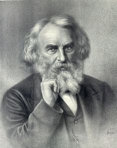 """Henry Wadsworth Longfellow (1807-1882) created epic poems, """"Evangeline"""" (1847) and """"The Song of Hiawatha"""" (1855) that became are American classics."""