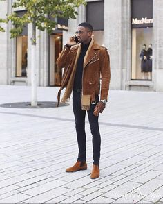 Winter Outfits Men, Stylish Mens Outfits, Winter Clothes For Men, Black Men Street Fashion, Black Men Winter Fashion, Urban Street Fashion, Germany Fashion, Fashion Mode, Fashion News