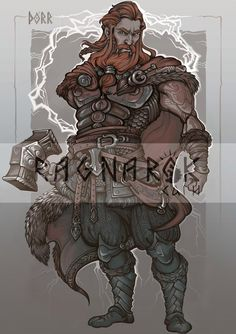 Character card#6: THOR by Sceith-A.deviantart.com on @DeviantArt