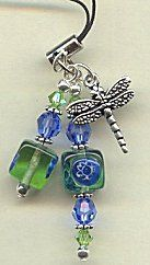 IDEA: Barb's Spring Bling Cell Phone Jewelry (eebeads.com)--> I'm thinking this as a keychain perhaps?