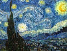 5 obras de arte que deberías poder identificar:la noche estrellada -van gogh-