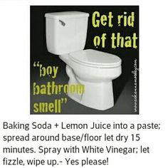 Get rid of bathroom odor!