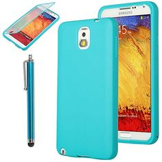 Pandamimi ULAK Samsung Galaxy Note 3 III N9000 Slim Lightweight TPU Wrap Up Case w/ Built in Screen Protector and Stylus (Blue) ULAK http://www.amazon.com/dp/B00H2A1FJG/ref=cm_sw_r_pi_dp_LKGkub1BSBSEK